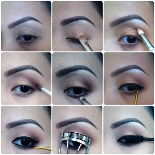 Maquillaje sencillo para ojos peque os paso a paso for Pintarse los ojos facil
