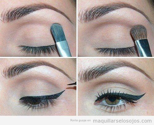 Pintarse los ojos maquillarse los ojos todo sobre el - Como maquillarse paso apaso ...
