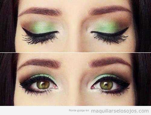 Maquillaje de Ojos Cafes Maquillaje de Ojos Marrones o