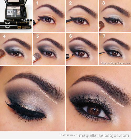 Sexy maquillarse los ojos todo sobre el maquillaje de for Como maquillar ojos ahumados paso a paso