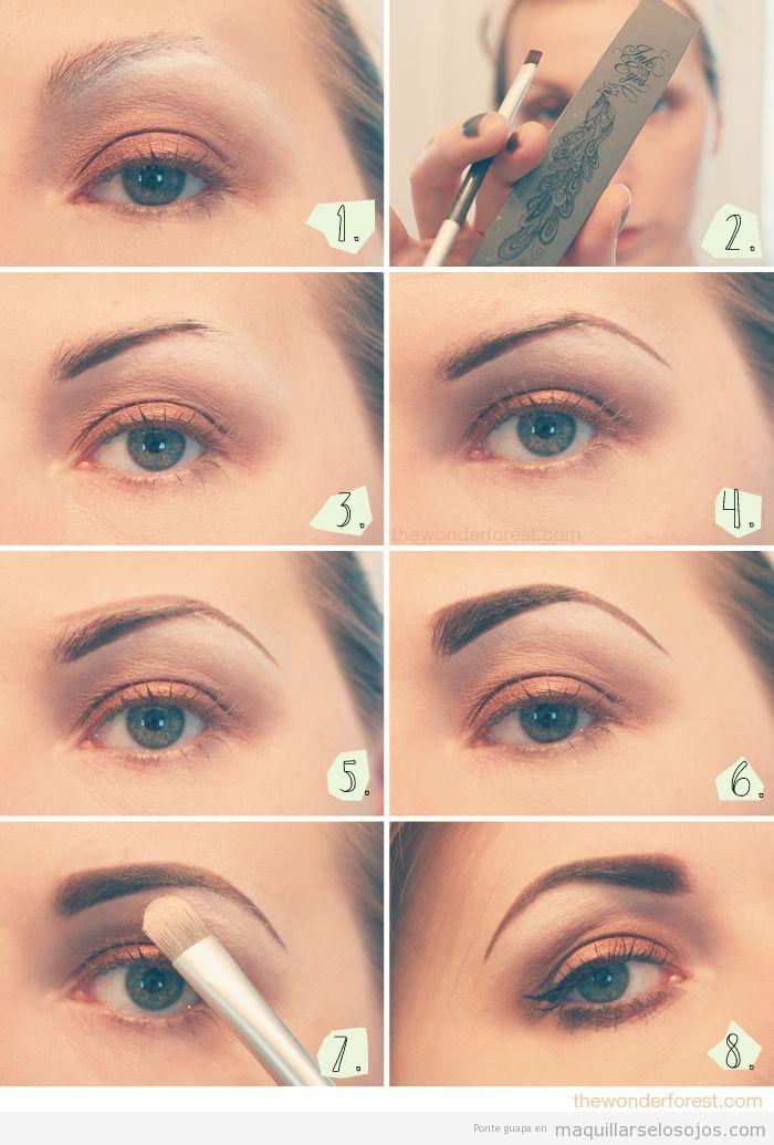Tutorial para aprender a maquillar las cejas, paso a paso
