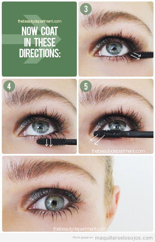 Tutorial para aprender a maquillar las pestañas inferiores