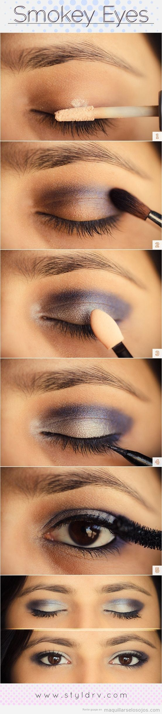 Tutorial maquillaje para agrandar ojos pequeños