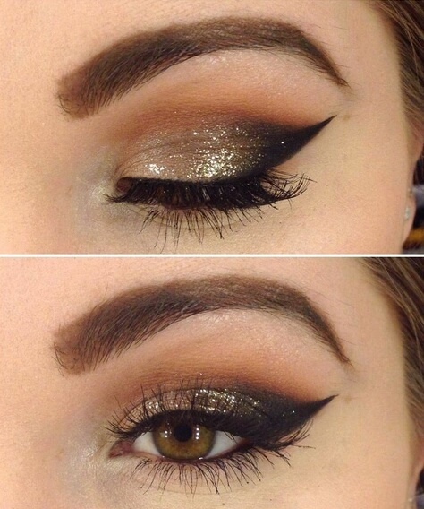 Navidad maquillarse los ojos todo sobre el maquillaje for Como pintarse los ojos de negro