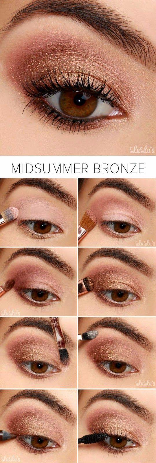 Tutorial maquillarse los ojos todo sobre el maquillaje for Pintarse los ojos facil