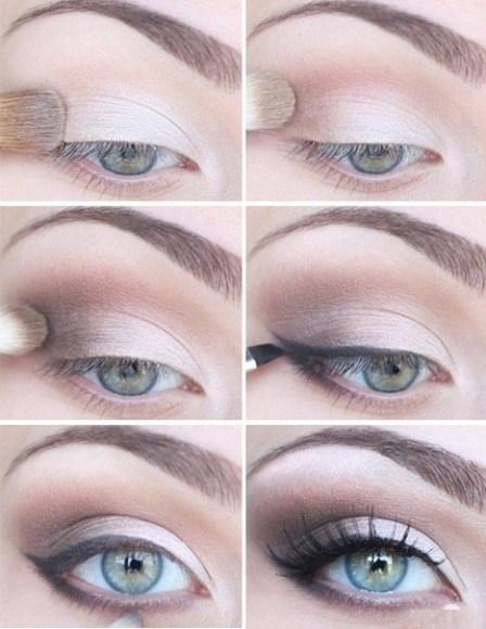 Maquillaje de ojos ahumados, paso a paso con fotos