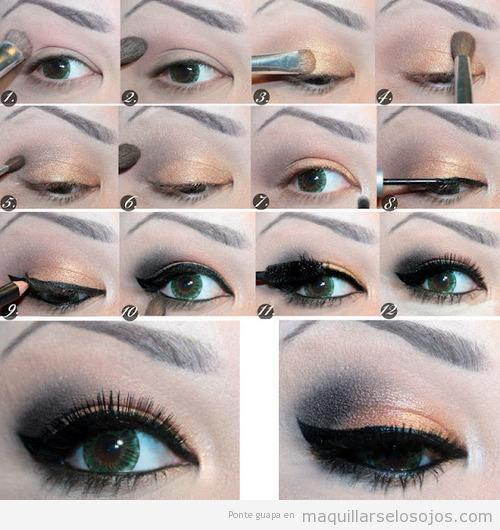 Tutorial para aprender a maquillarse los ojos paso a paso