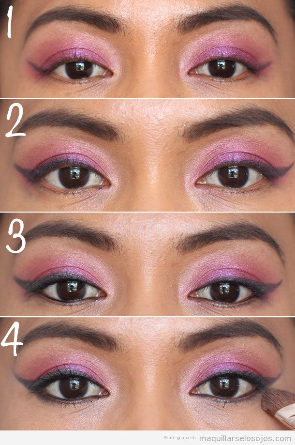 Tutorial paso a paso para maquillarse los ojos estilo Katy Perry