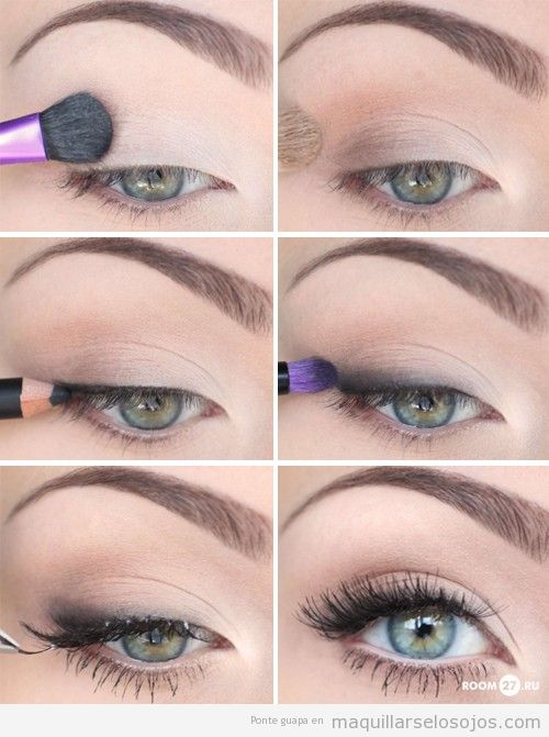 Maquillaje De Día Paso A Paso Maquillarse Los Ojos