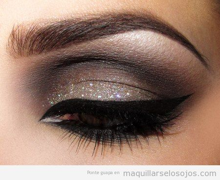 maquillaje de ojos elegante