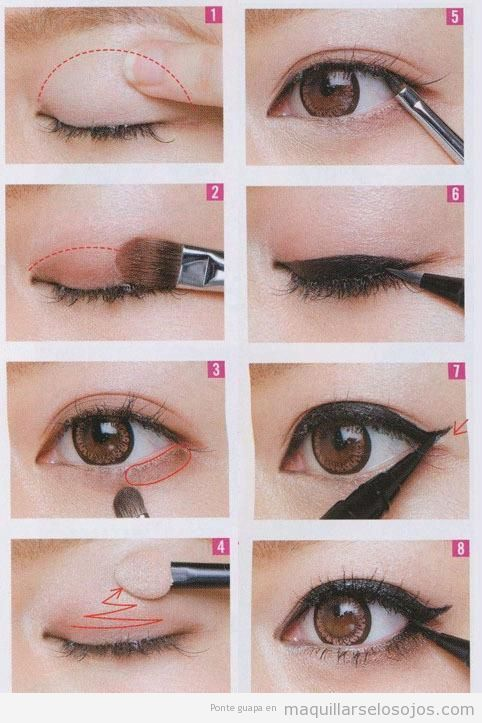 How To Do Make Up For Asian Eyes 61