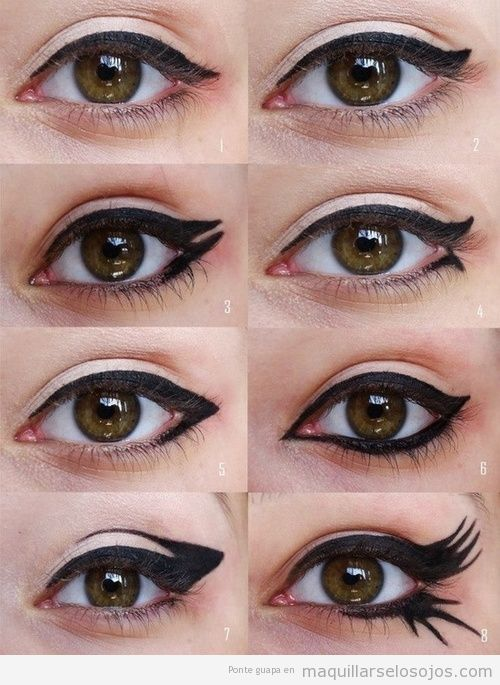 tutorial para pintar un maquillaje de ojos original paso a paso