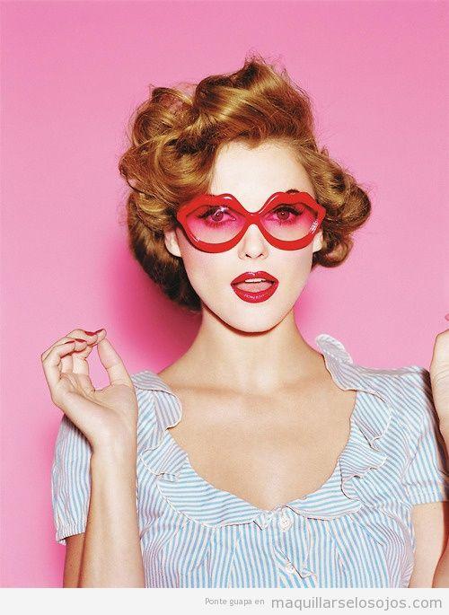 Maquillaje de ojos Lolita Pinup