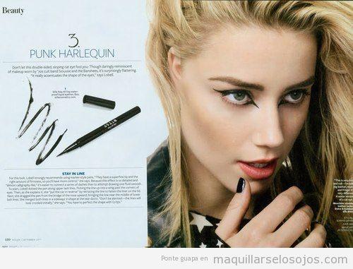 Maquillaje de ojos con perfilador original