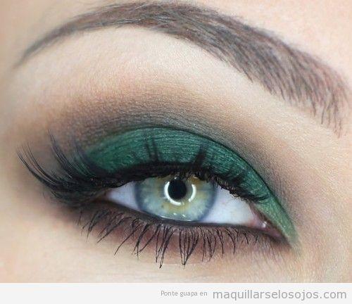 Ojos verdes archivos maquillarse los ojos - Colores verdes azulados ...