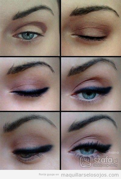 Tutorial paso a paso, maquillaje de ojos rosa soft