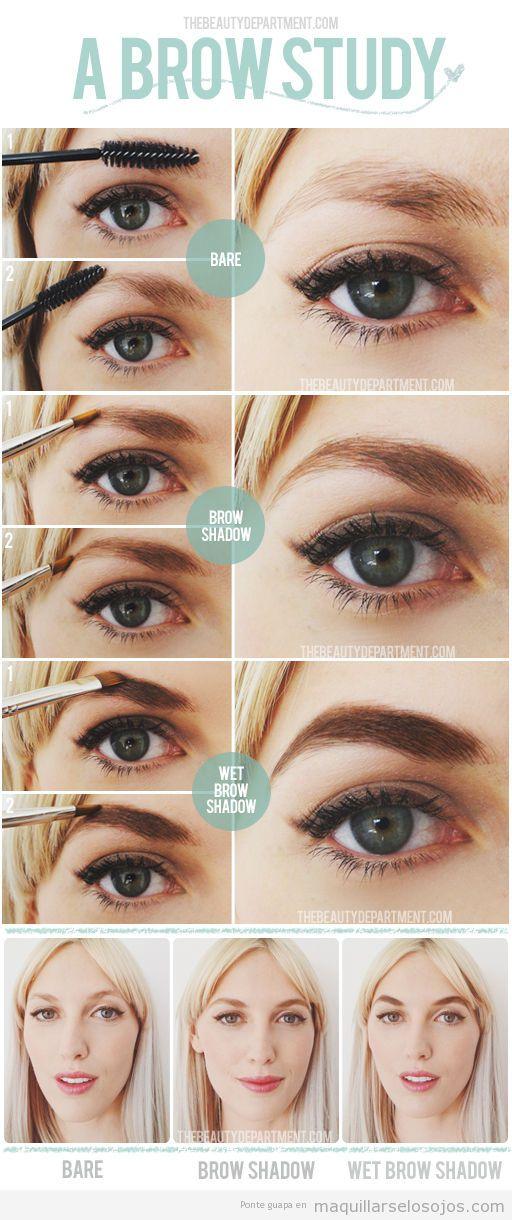 Tutorial para aprender a maquillarse las cejas paso a paso