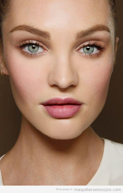 Maquillaje de ojos natural para diario