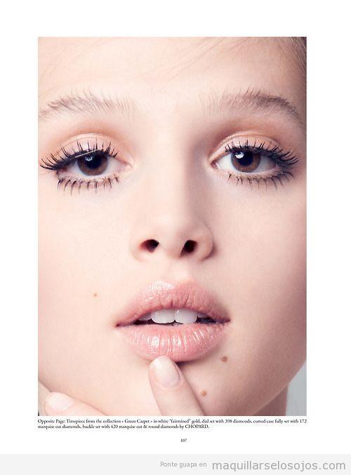 Ideas Maquillaje de ojos basado en máscara pestañas