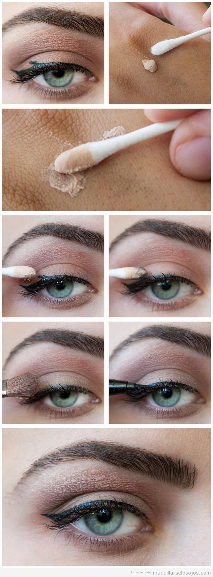 Truco arreglar errores maquillaje, tutorial paso a paso