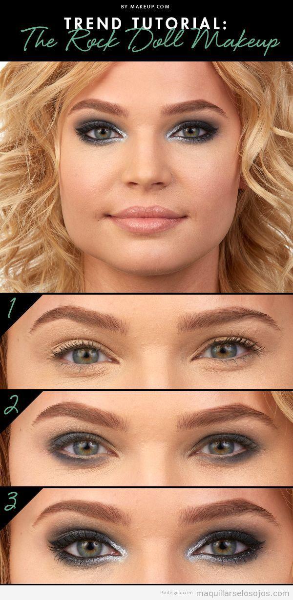 Tutorial maquillaje ojos estilo rockero