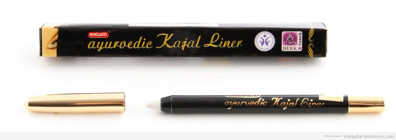 Comprar lápiz de ojo blanco ayurvédico