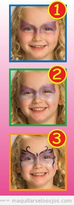 Tutorial maquillaje niñas fantasía