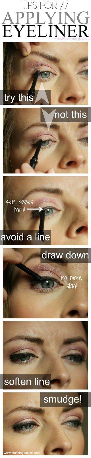 Trucos para perfilar el ojo usando lápiz de ojos