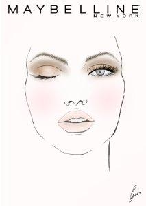 Maquillaje ojos con The Nudes palette de Maybelline para día