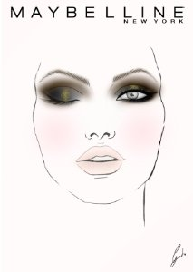 Maquillaje ojos con The Nudes palette de Maybelline para noche
