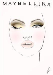 Maquillaje ojos con The Nudes palette de Maybelline para tarde