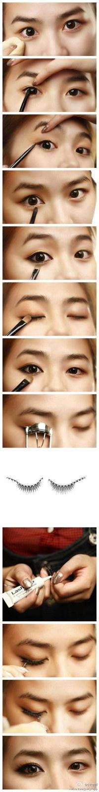 Trucos y tutorial para maquillar ojos pequeños