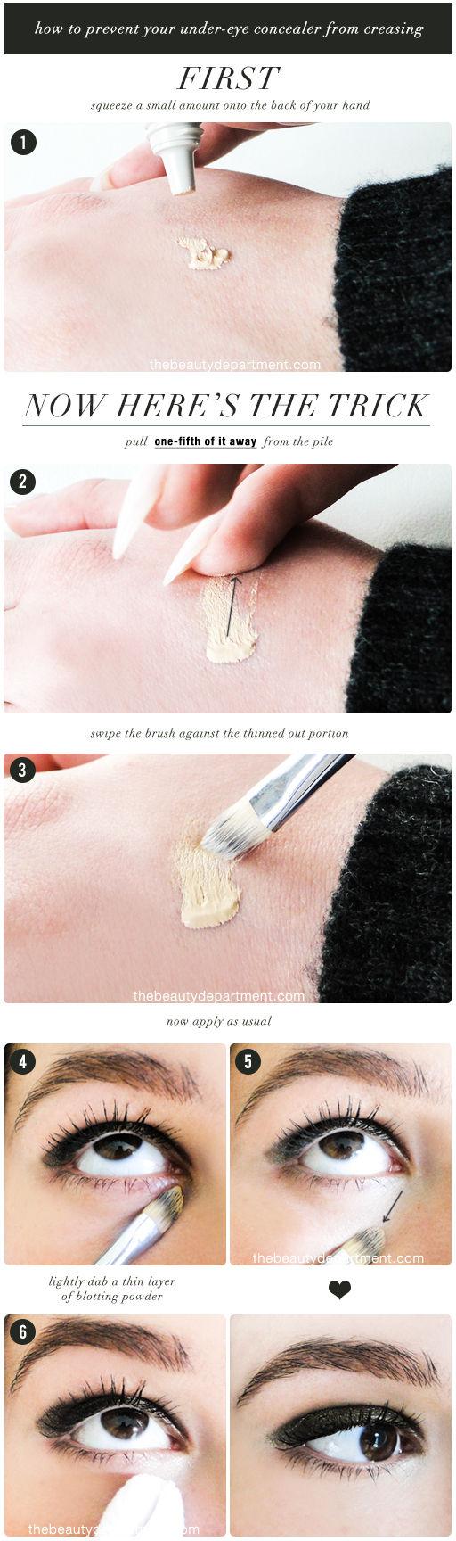 tutorial aplicar corrector ojeras e iluminador