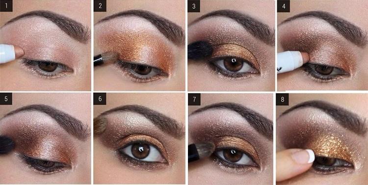 Navidad archivos maquillarse los ojos - Ojos ahumados para principiantes ...