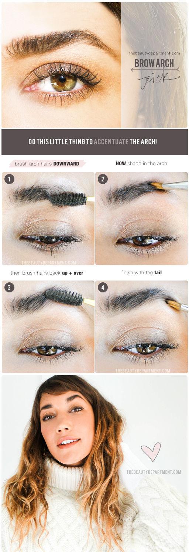 Tutorial peinar y maquillar cejas
