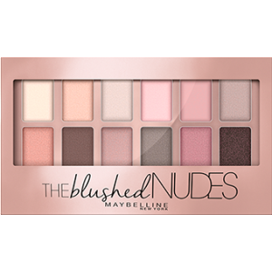 THE BLUSHED NUDES PALETTE maybelline