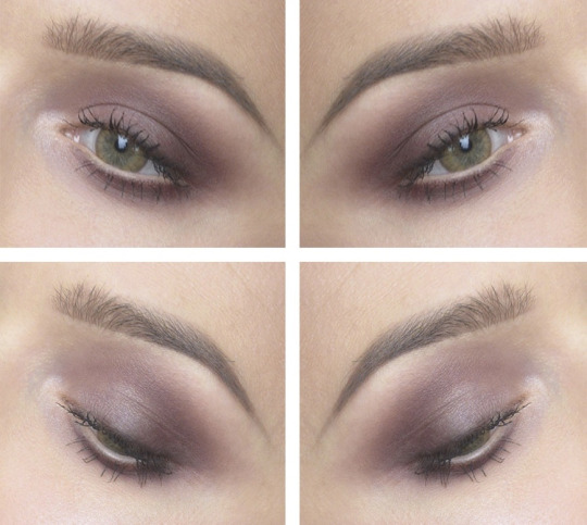 Maquillaje de ojos fiesta para primavera