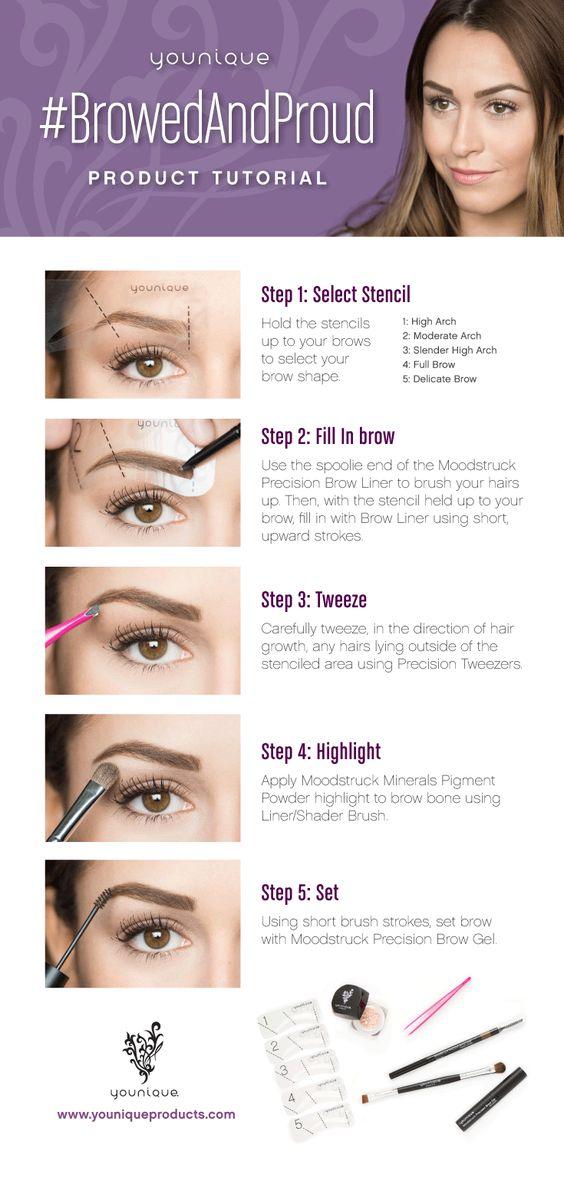 Tutorial con trucos y explicaciones para maquillaje de cejas