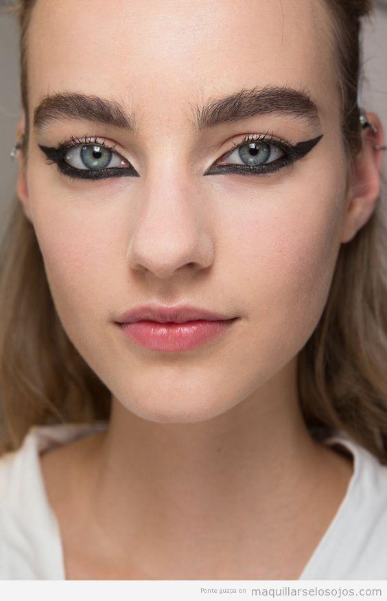 3 Tendencia maquillaje de ojos otoño 2016