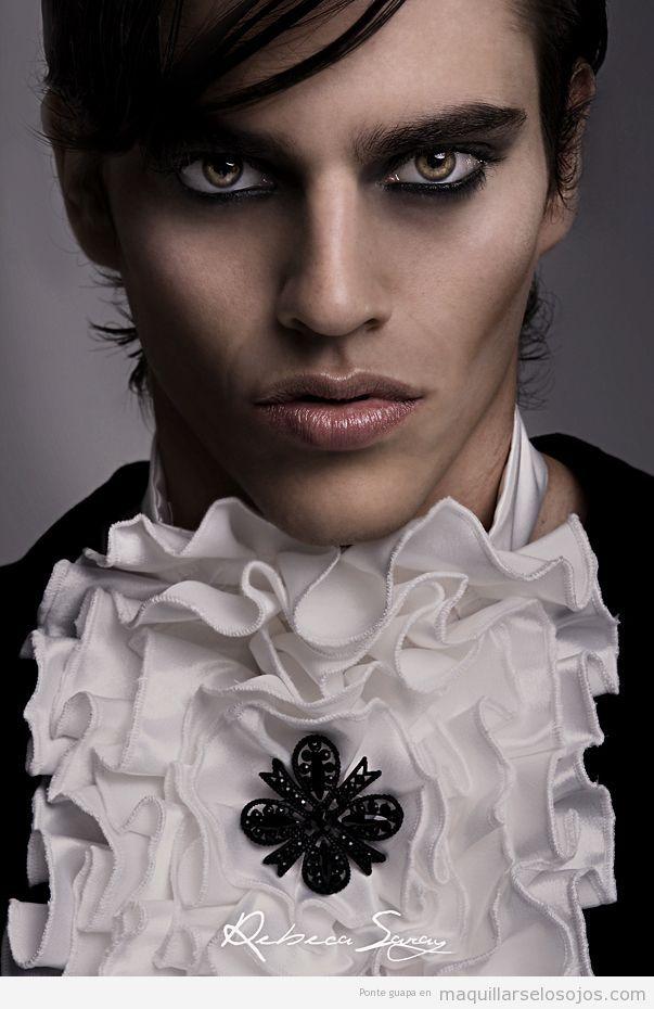 Maquillaje de ojos para hombre