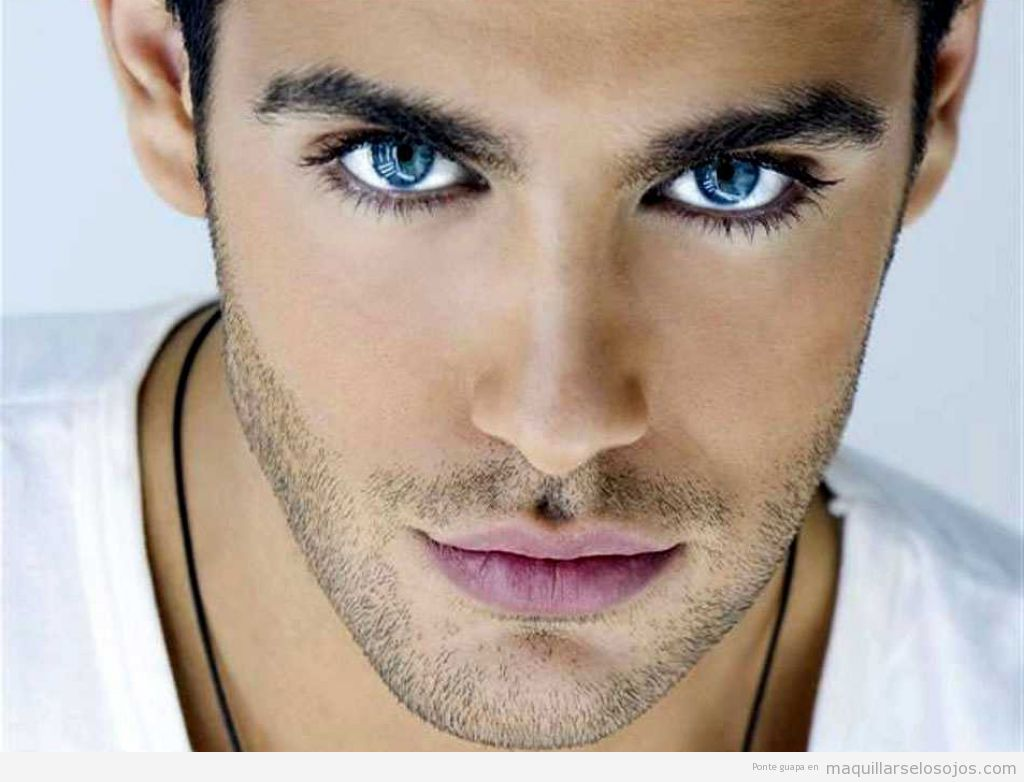 Maquillaje de ojos para hombres 2