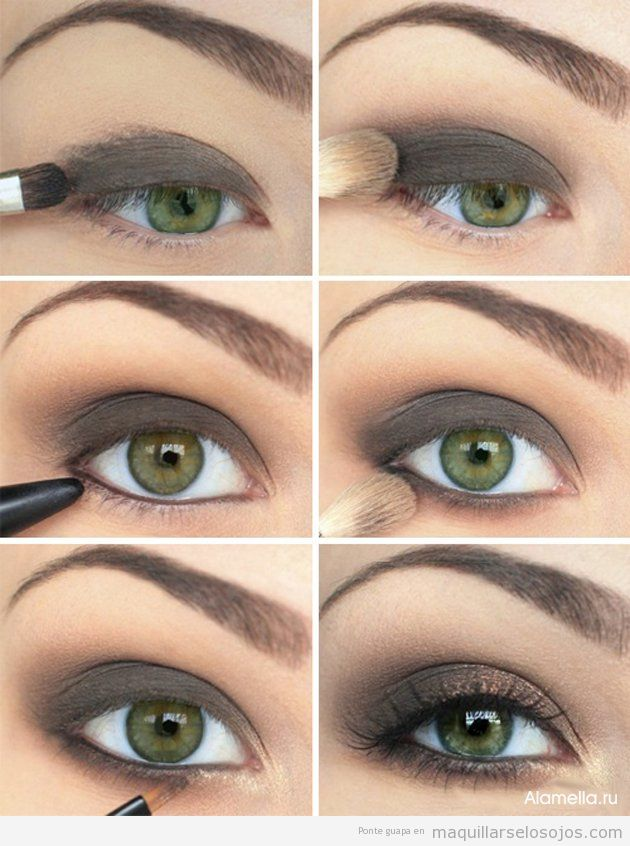Ideas para maquillar ojos de color verde
