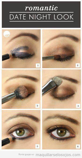 Ideas para maquillar ojos de color verde 2