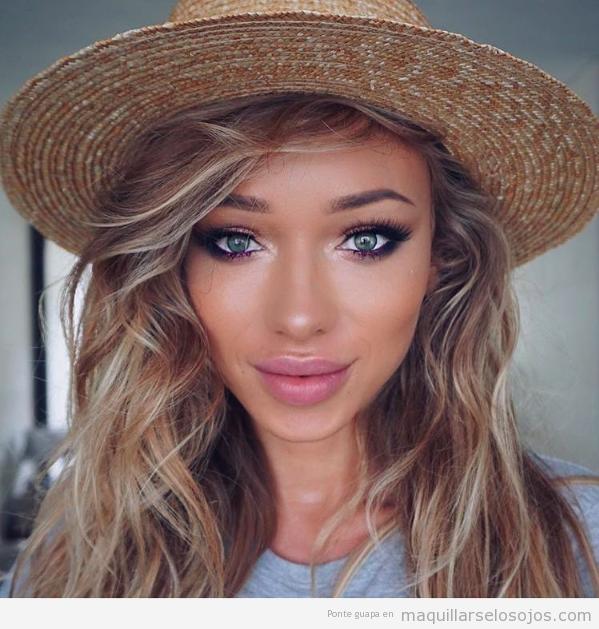 Maquillaje ojos Sumita 1
