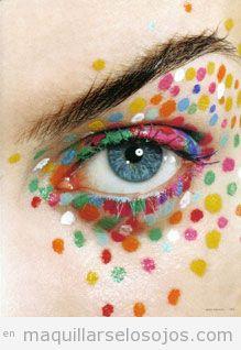 Maquillaje fantasía Carnaval fáciles 3