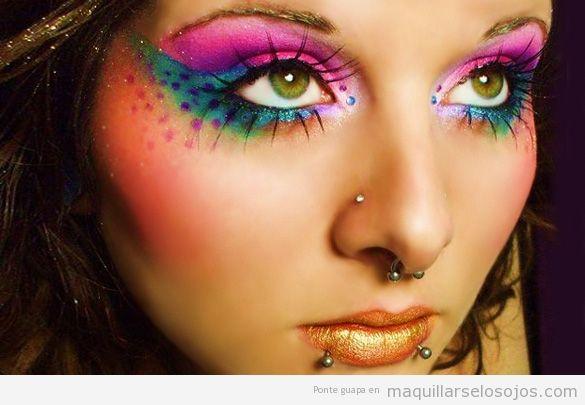 Maquillaje fantasía Carnaval fáciles 2
