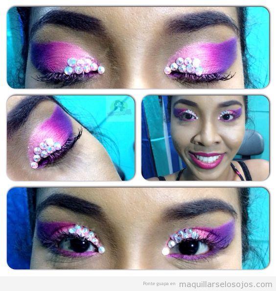 Maquillaje fantasía Carnaval fáciles