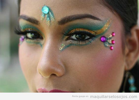 Maquillaje fantasía Carnaval fáciles 5