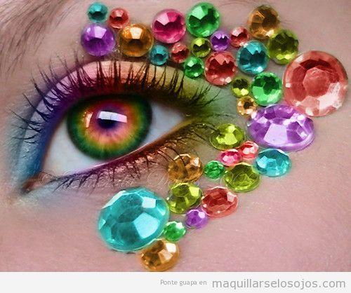 Maquillaje fantasía Carnaval fáciles 4