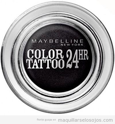 Outlet online de maquillaje de marca barato, eyeliner gel marca Maybelline